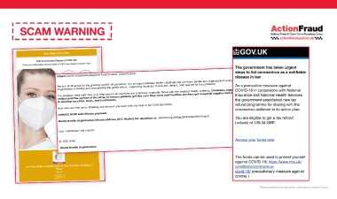 City of London Policy scam alert