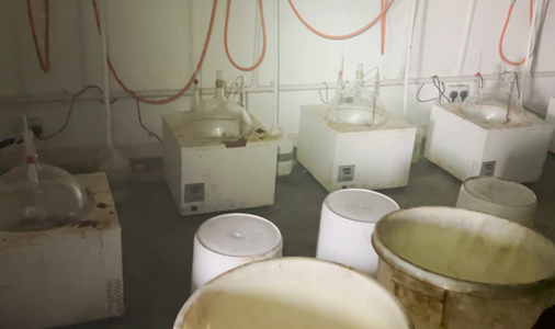 Operation Venetic: Five arrested after industrial-scale amphetamine lab found in rural Warwickshire