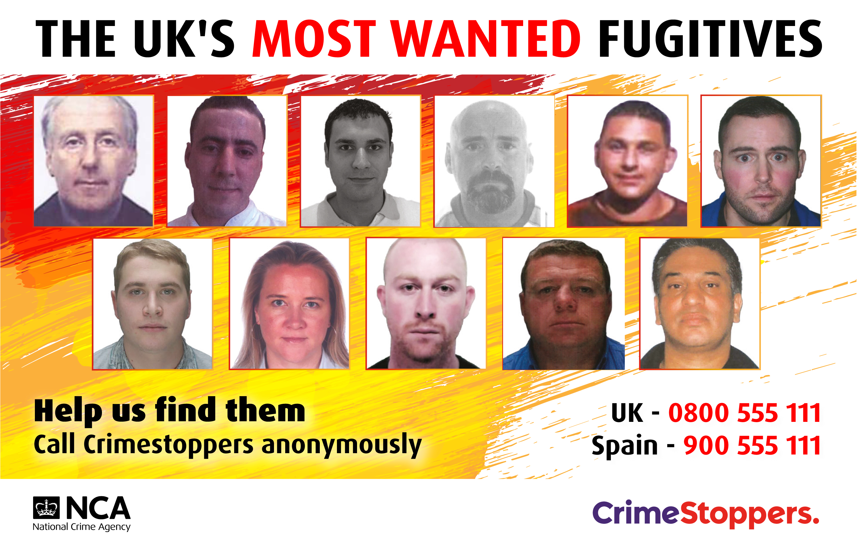 NCA UK Most Wanted ForPress