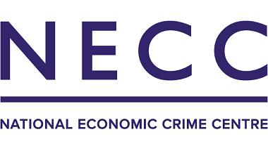 National Economic Crime Centre logo in purple