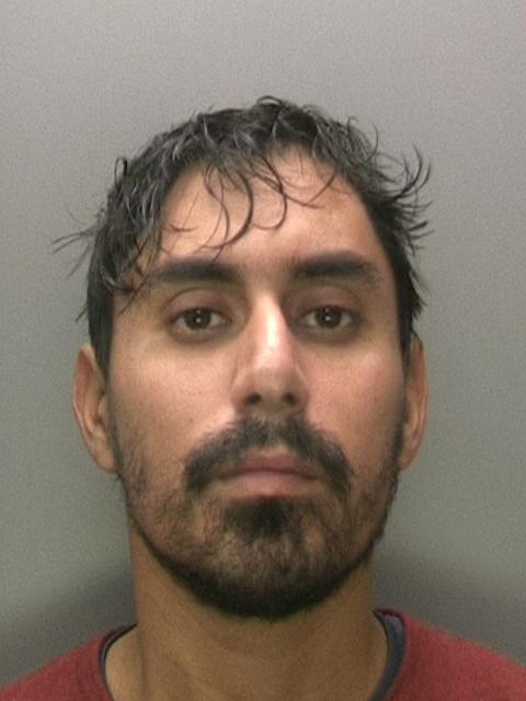 Nasir Jamshaid custody shot
