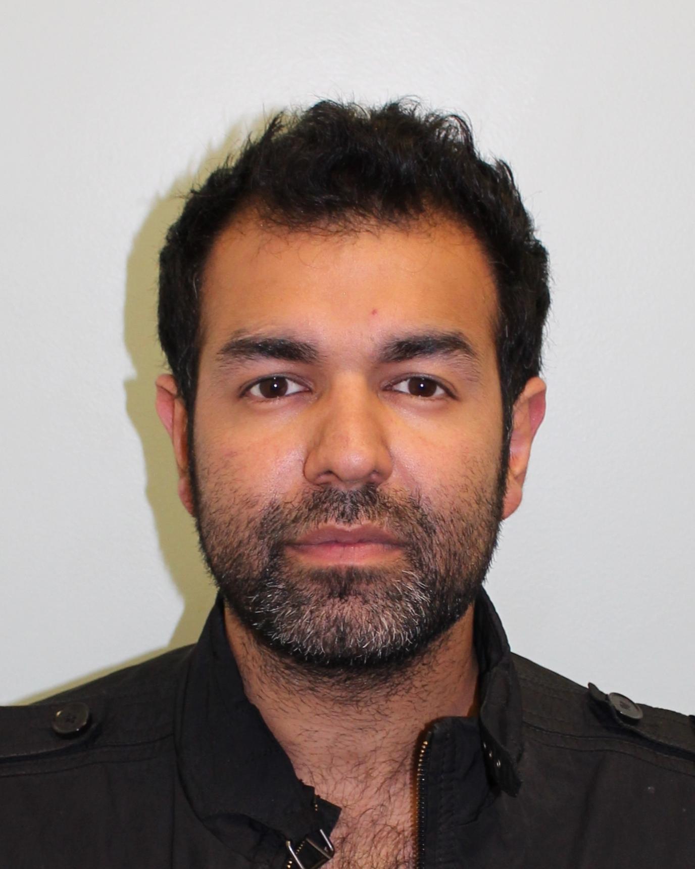 Yousaf Anwar custody shot