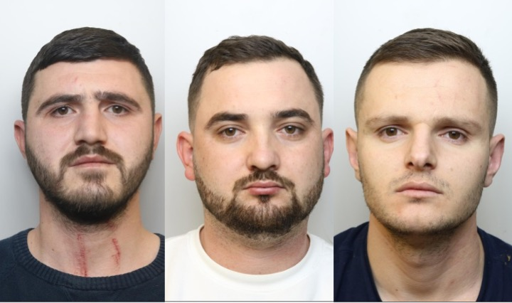 Three men jailed over £500k of cocaine and false documents