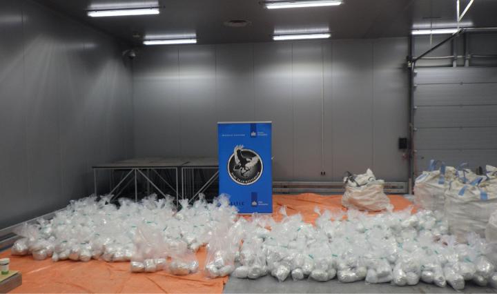 Huge 1.5 tonne heroin haul seized in international operation