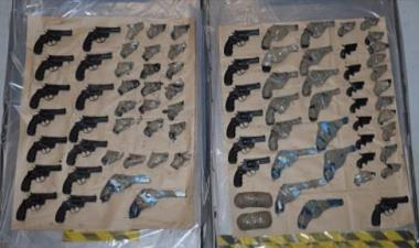 45 years for importers of lethal handguns