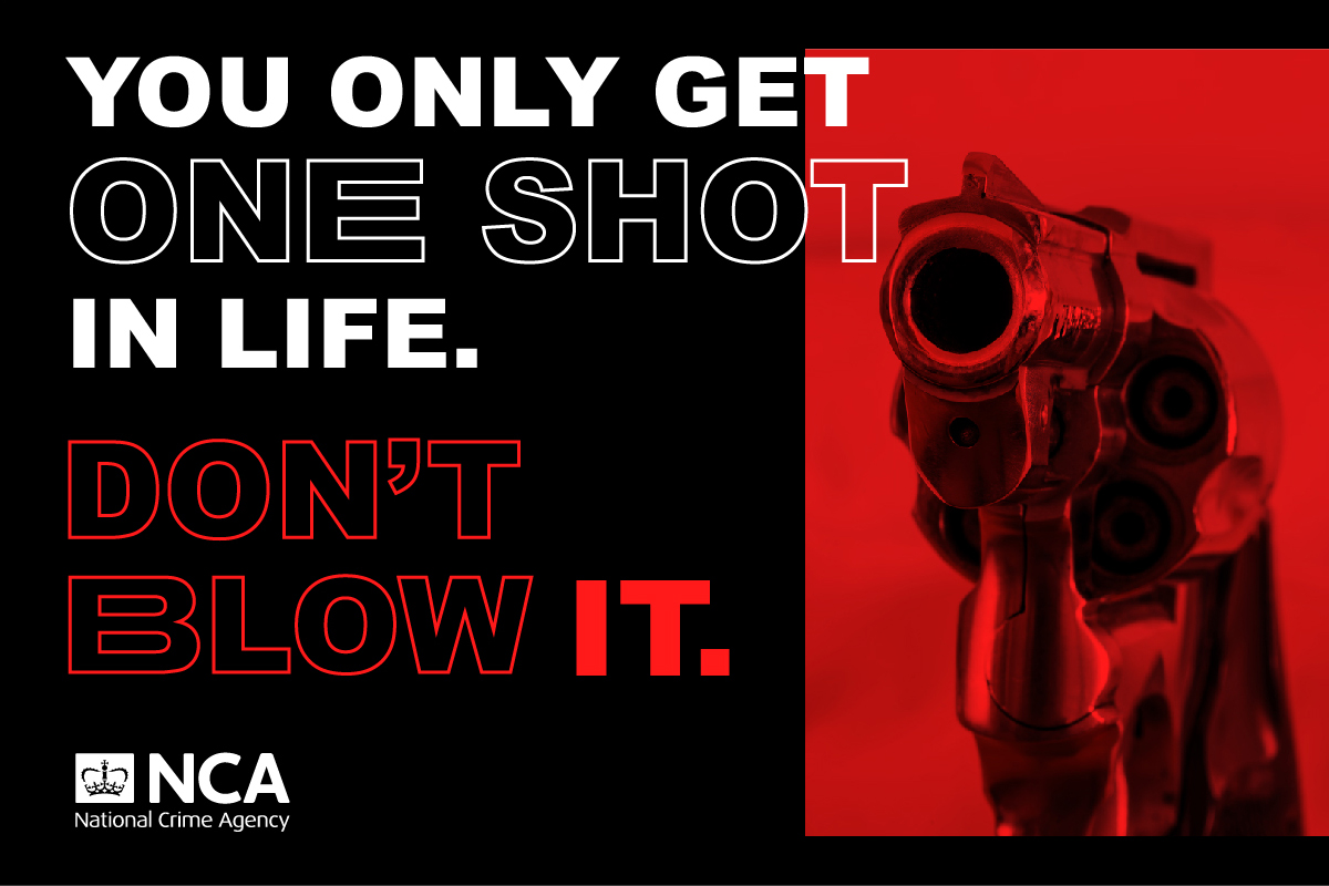 Graphic: 'You only get one shot in life. Don't blow it.'