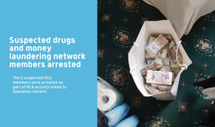 Op Venetic: Suspected drugs and money laundering network members arrested in Bolton