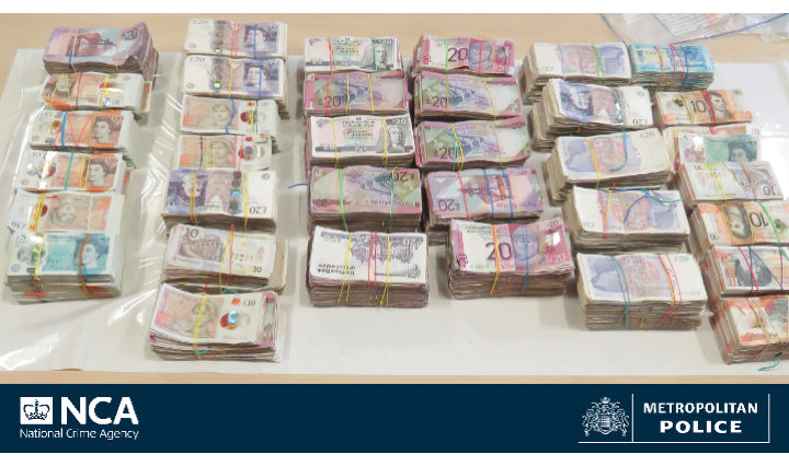 Cash courier jailed for smuggling £12million out of the UK