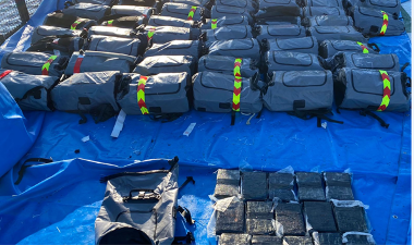 Five Brits arrested after a tonne of cocaine seized from sailing yacht
