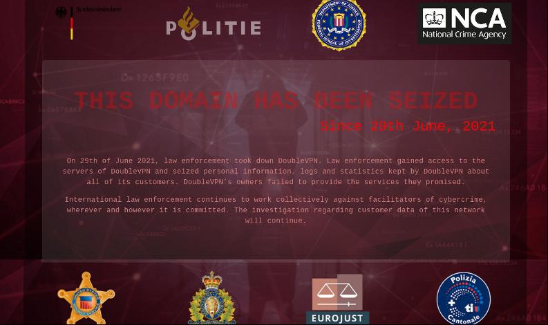 DoubleVPN takedown: NCA takes UK server of criminal network offline