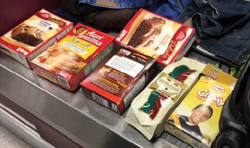 Smuggler hid cocaine insidefood packages