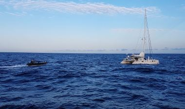 Five men convicted after 1.4 tonnes of cocaine seized from catamaran