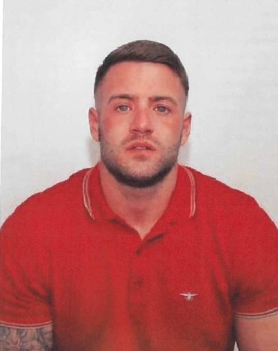 Jamie Rothwell custody shot