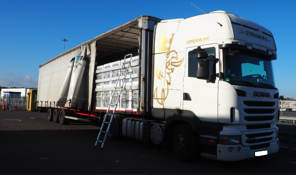 Lorry driver charged following 107 kilo cocaine haul in Harwich
