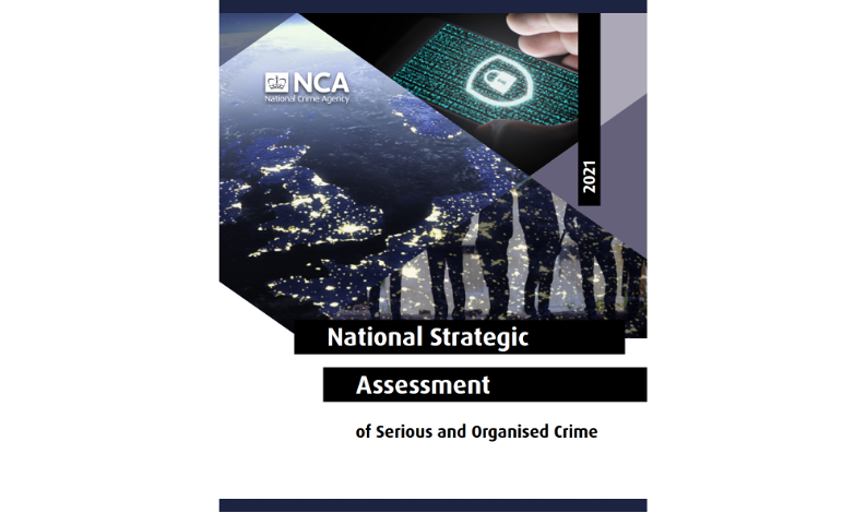 Online is the new frontline in fight against organised crime– says NCA on publication of annual threat assessment
