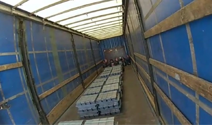 Lorry driver jailed for trying to smuggle migrants out of the UK