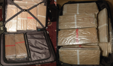 Drugs in suitcase seized in Bradford