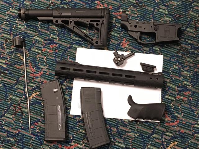 Rifle component parts