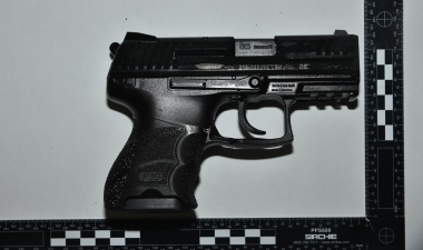 Two charged over Channel Tunnel firearms seizure