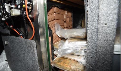 bus interior with concealment 10 Oct 21