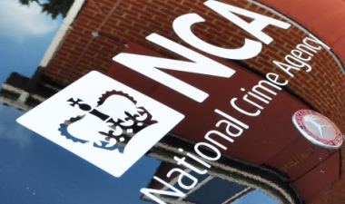 NCA logo on car