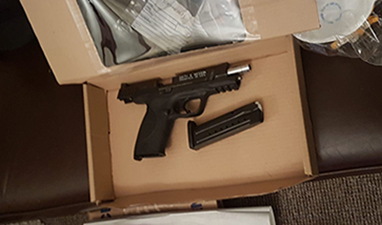 Two men charged following seizure of four firearms in Essex